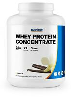 Nutricost Whey Protein Concentrate (Vanilla) 5 LBS