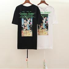 New Style OFF WHITE C/O VIRGIL ABLOH Short Sleeve Tee Men's Women's T-shirt