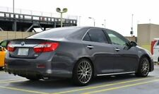 Diffuser for rear bumper + Lip trunk spoiler  Toyota Camry XV50 2012-2014