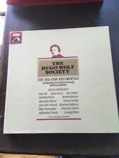 The Hugo Wolf Society 7 LP Box 1931-1938 Recordings B61