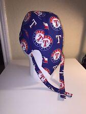 Texas Rangers Skull Cap / Doo Rag w/Cool Max Lining