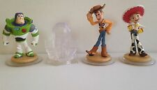 DISNEY INFINITY Toy Story Play Set Jesse Buzz & Woody Figures Wii Xbox 360 PS3