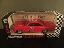 AJ Foyt 1965 Sheraton Thompson Ford 1/64 RCCA Vintage NASCAR