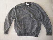 Sweat pull ELEVEN PARIS noir chiné taille XL