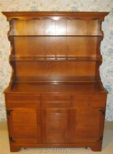 Ethan Allen Baumritter Welsh Hutch China Cabinet Colonial Creations Solid  Maple