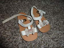 BURBERRY BOW SANDALS SHOES BABY SZ 4 GIRLS