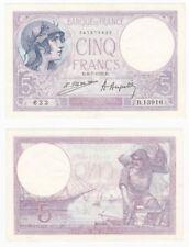 FRANCE 5 Francs Banknote (1923) P.72c - EF.
