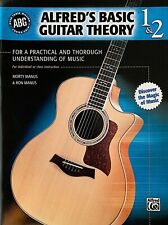 ALFRED'S BASIC GUITAR THEORY 1 & 2- LEARN HOW TO PLAY/ NEW!