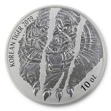 10 oz Silber Korean Silver Tiger - KOMSCO South Korea Südkorea 2019