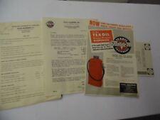 1951 TEXOIL Butane Propane Dispenser Catalog Sheet Lot Gasoline LPG Pump Vintage