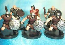 Dungeons & Dragons Miniatures Lot  Human Bandit Human Thug Human Rabble !!  s114