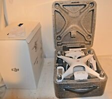 WORKING DJI PHANTOM 4 PRO DRONE, w/CHARGER, 2 BATTERIES, BLADES, AND CASE