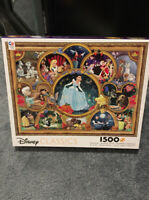 Ceaco Disney Classics Jigsaw Puzzle 1500 Pieces Dreams Collection Collage NEW