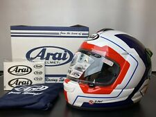 Arai Axces 3 III Line Blue Full Face Motorbike Motorcycle Helmet - Small