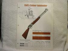 COLT COLTEER AUTOLOADER sales brochure single sheet