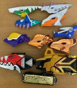 Power Rangers Dino Thunder DX Dino Brace Morpher Plate Set Abaranger Bandai JP