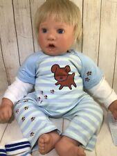 Vintage ADORABLE 1996 LEE MIDDLETON Baby Boy Doll (X)