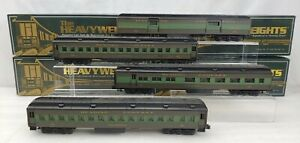 4 K-Line Heavyweights Passenger Cars Reading New In Box O Gauge