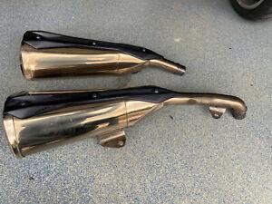 Kawasaki Z 1000 2010 Auspuff Endschalldämpfer links und rechts