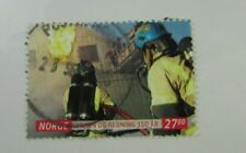 2011 Norway SC #1649 Fire Fighter used stamp