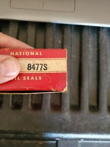 New old stock National 8477S REAR Wheel Seal