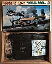 "ESCI 4040 - DOUGLAS AD-6 ""ABLE - DOG"" - 1/48 PLASTIC KIT"