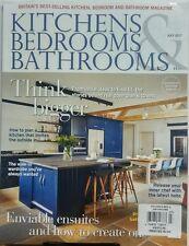 Kitchens Bedrooms & Bathrooms UK July 2017 Think Bigger Ideas FREE SHIPPING sb