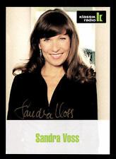 Sandra Voss Autogrammkarte Original Signiert ## BC 39833