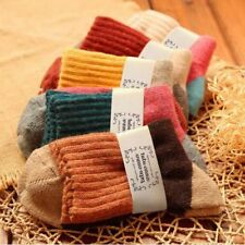 5 Pairs Women Ladies Warm Wool Thick Winter Socks Nordic Novelty Sock