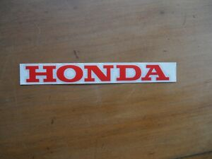 HONDA CB1100f CB900F REAR COWLING DECAL RED
