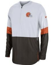 Nike Cleveland Browns NFL Sideline Lightweight Pullover Jacket Mens Small White