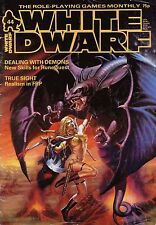 169 issues of White Dwarf Magazine on 2 Dvd (fantasy, science-fiction Rpg, Ad&D)