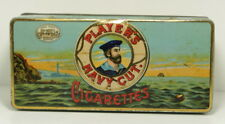 Vintage Player's Navy Cut Cigarettes Tobacco Tin For 100