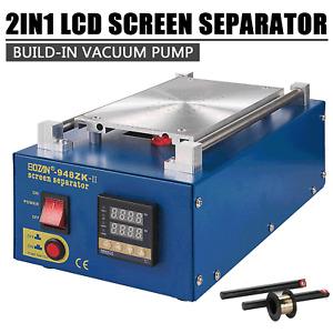 "7"" 2 in1 Vacuum LCD Bildschirm Reparatur Maschine Heizplatte Glass Separator"