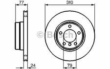 2x BOSCH Disques de Frein Avant Ventilé 310mm pour BMW Série 5 0 986 479 055