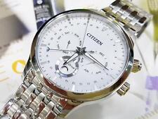 Citizen AP1050-56A Eco-Drive Moon Phase Japan Sapphire Gent's 42mm Watch