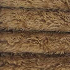 "1/6 yd 340H Tuscan Chestnut Intercal 5/8"" Med. Dense Heirloom Finish Mohair Fur"
