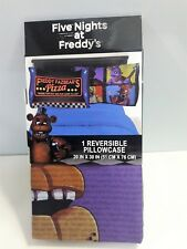 Five Night at Freddy's Reversible Pillowcase Standard Size Twin Full