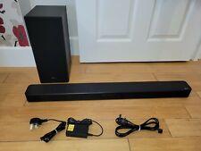 More details for lg sl5y 400w sound bar & wireless subwoofer - black