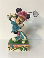 Disney Traditions Minnie Mouse i'd Rather Be Golfing Jim Shore #4038495 Nib