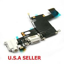 """White Headphone Audio Dock Connector Charging USB Port Flex Cable iPhone 6G 4.7"""""""