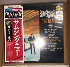THE BEATLES - Something New W/Obi