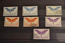 SUISSE 1924 AIRMAIL série neufs * sans gomme et oblitérés