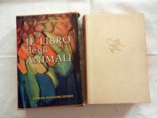 IL LIBRO DEGLI ANIMALI Tombari Mondadori Editore 1955 Libro  Rivista