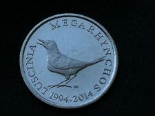 CROATIA  Commemorative COINS- 1 KUNA 2014- 20th Anniversary of National Currency
