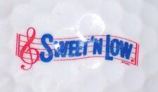 (1) Sweet N Low Sugar Logo Golf Ball