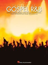 The Best of Gospel R&B Sheet Music Piano Vocal Guitar SongBook NEW 000311981