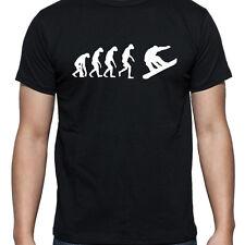 Evolución de snowboard Camiseta T Shirt Xl Xxl Xxxl Botas Bolsa Cera Casco 158 Lib