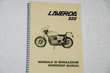 Laverda 500/350 Workshop Manual