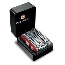 Victorinox Swiss Army Knife Swiss Champ XAVT Ruby Translucent 53509 1.6795.XAVT